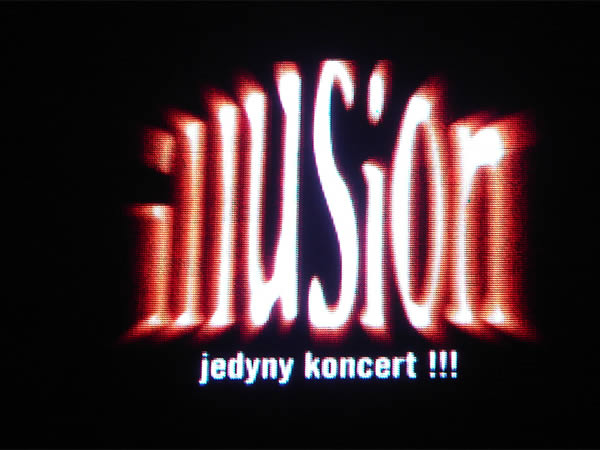 Jedyny koncert Illusion