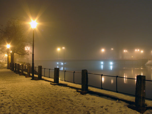 Zimno i mgliście