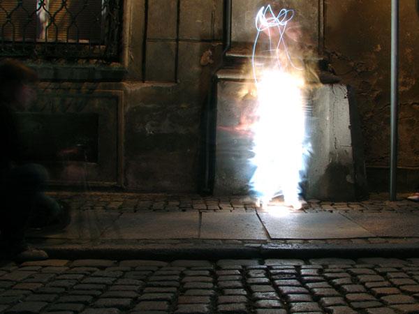 Zdjęcie - Produkcja ducha