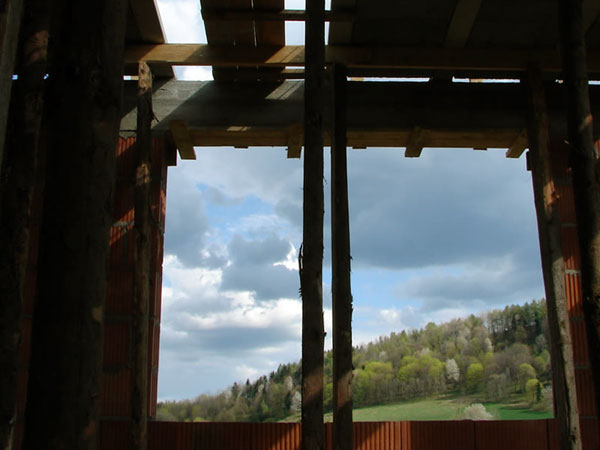 Przez okno