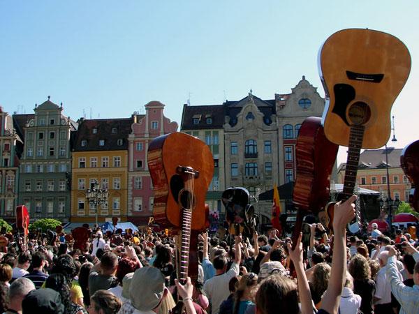 Ręce do góry, gitary też