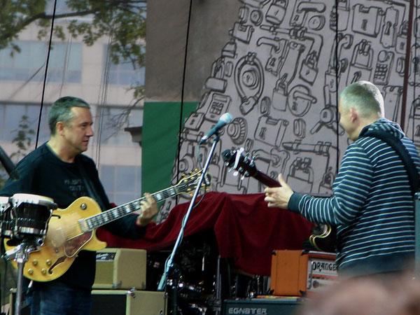 Jarosław Treliński i Adam Nowak