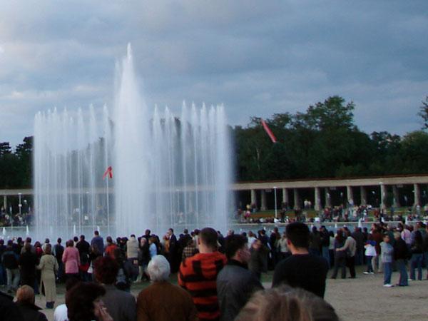 Multimedialna fontanna na Pergoli