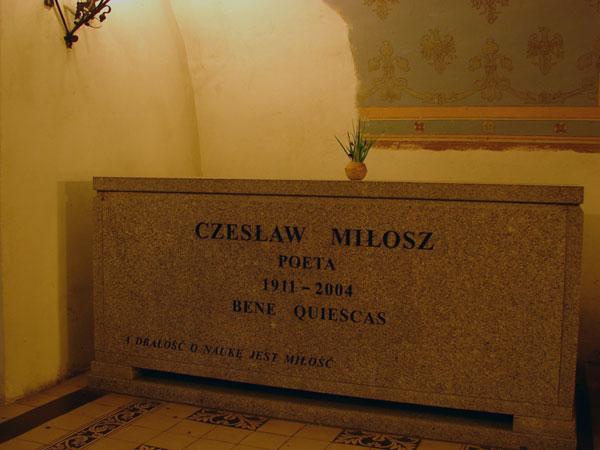 W Krypcie Zasłużonych - Czesław Miłosz
