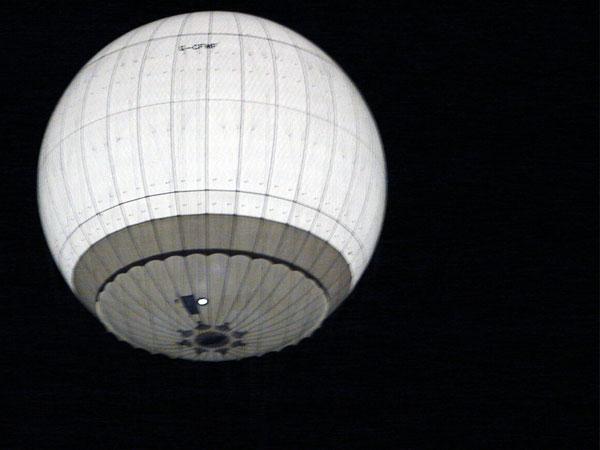 Balonik nocą