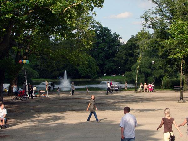 Niedziela w parku
