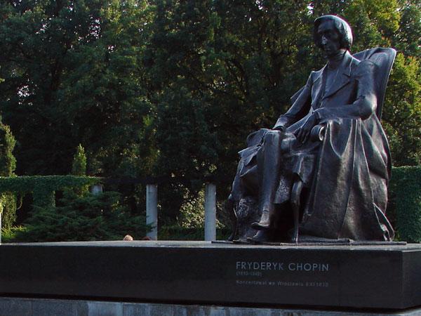 Zdjęcie - Pomnik Fryderyka Chopina
