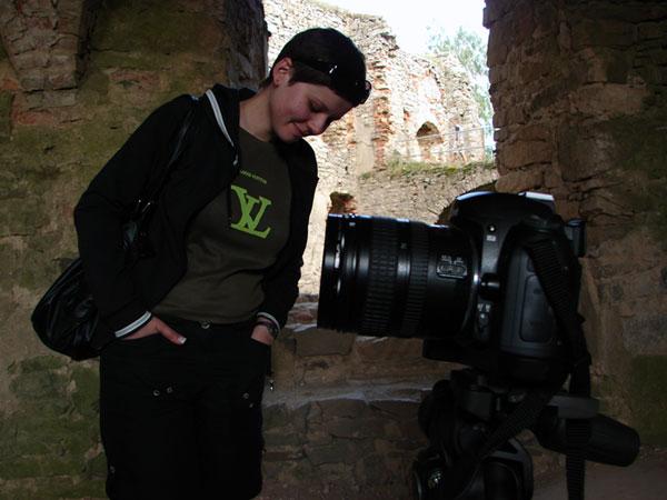 Paula i Nikon