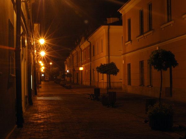 Zdjęcie - Zamość nocą