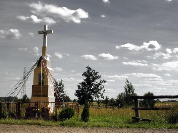 Krzyż na drodze