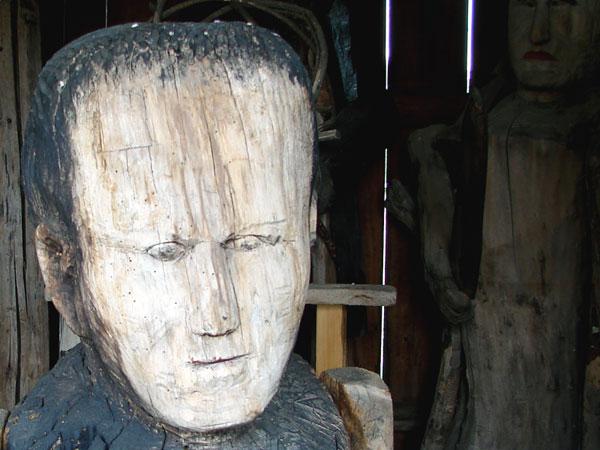 Rzeźba autorstwa Bernasia