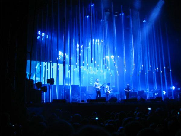 Zdjęcie - Radiohead na niebiesko