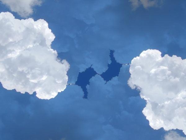 Zdjęcie - Niebo wersja symetryczna