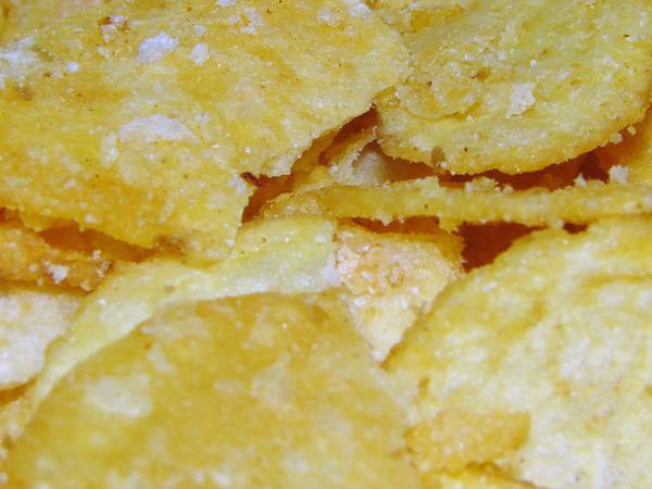 Zdjęcie - Chipsy zbliżone
