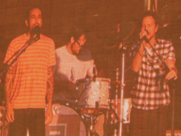 Ben Harper and Eddie Vedder