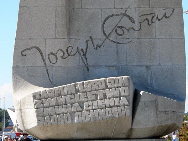 Zdjęcie - Pomnik Josepha Conrada