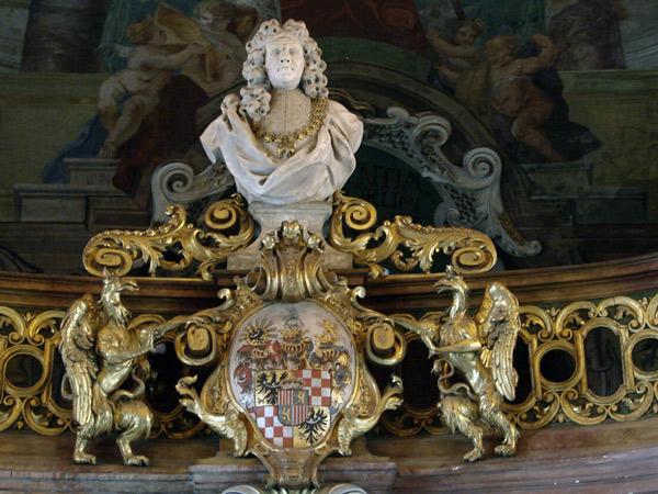 Popiersie hr. Joanna Antona von Schaffgotscha