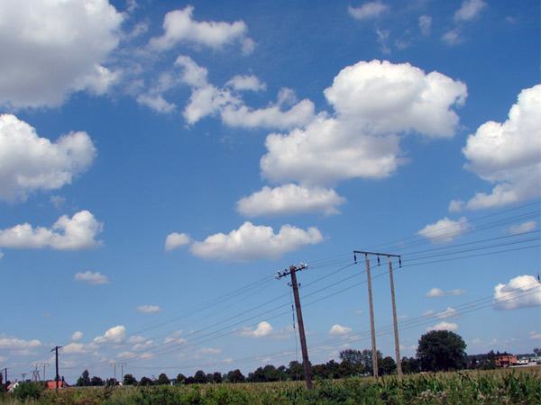 Chmur ci u nas dostatek