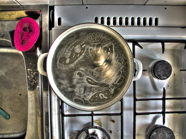 Gotowanie rosołu