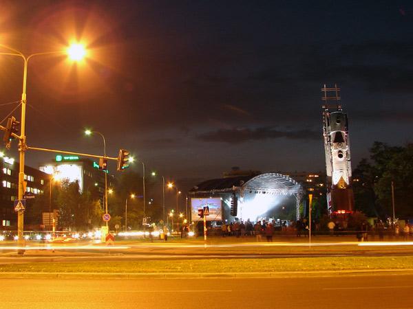 Zdjęcie - Scena, przed koncertem