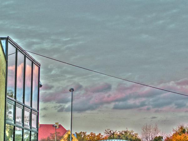 HDR niebo
