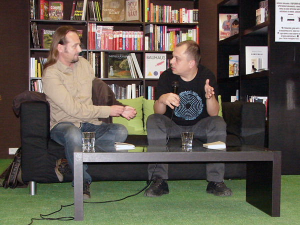 Jacek Bierut i Marcin Kurek