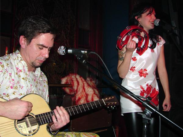 Tamburyn, gitara, duet