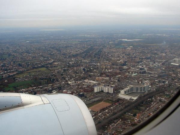 Zdjęcie - Londyn z góry