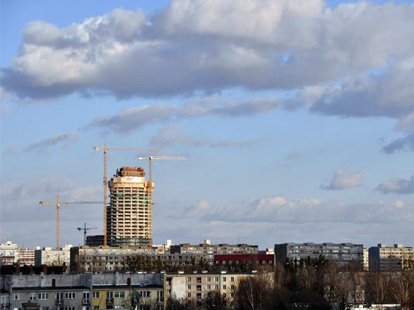 Budowa Sky Tower