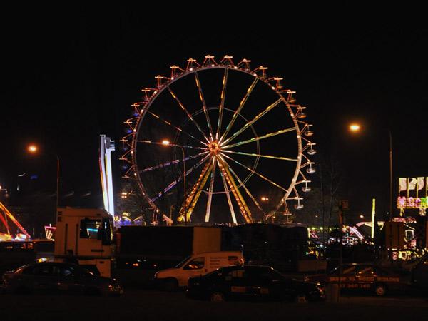 Zdjęcie - Nocne koło, młyn, diabeł?