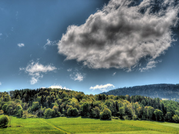 Zdjęcie - Duzia chmura