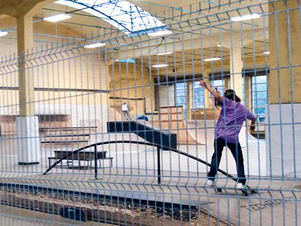 Skatepark Zajezdnia Wrocław