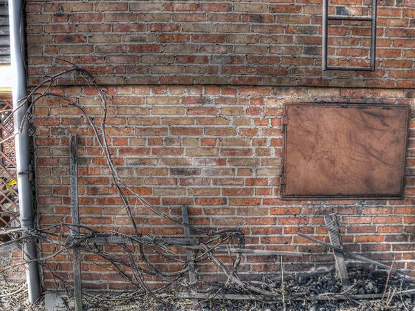 HDR ściana