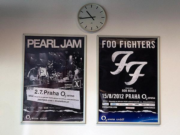 Pearl Jam Foo Fighters