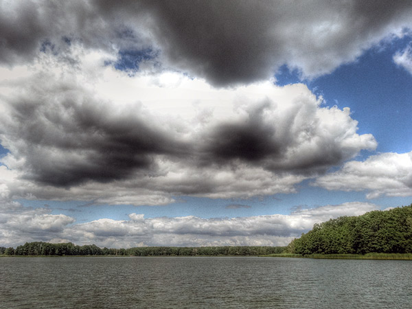 Zdjęcie - HDR - niebo nad nami