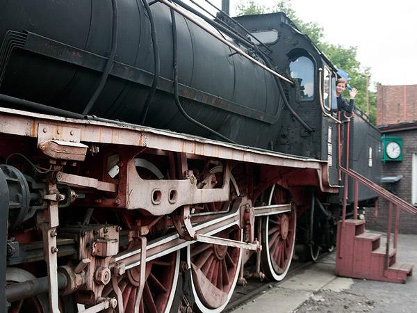 Wejście do lokomotywy