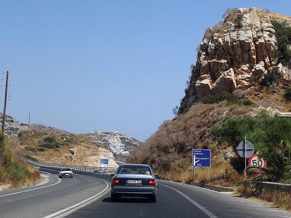 Droga na zachód wyspy