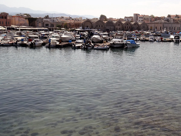 Chania, port