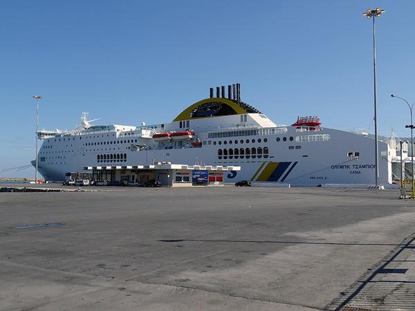 Port promów i innych dużych bryczek