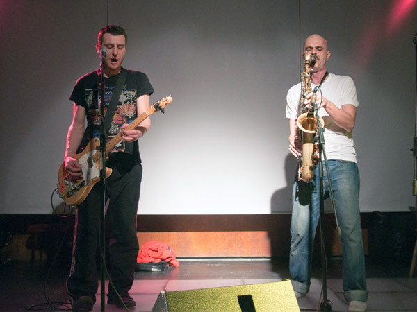 Guitar and Saks