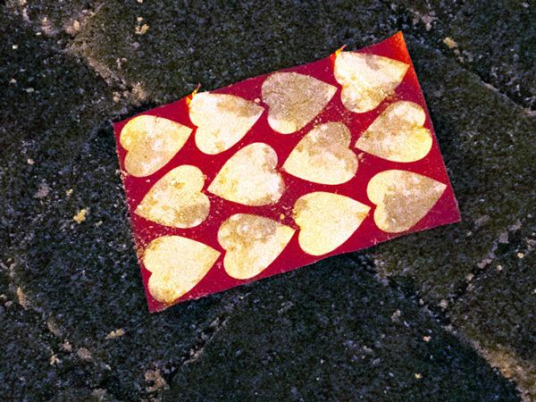 Serca rozdane
