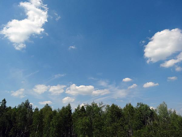 Zdjęcie - Chmury w drodze