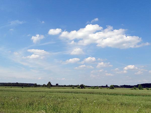 Chmury w drodze