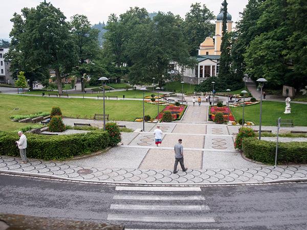 Zdjęcie - Widok na park