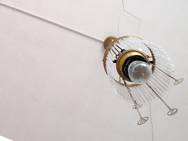 Sufitowa lampa gazowa