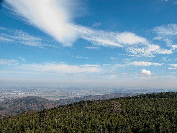 Widok na doliny