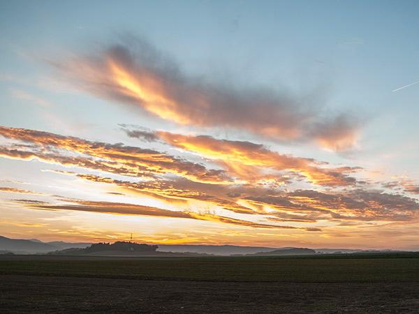 Zdjęcie - Krwisty zachód słońca