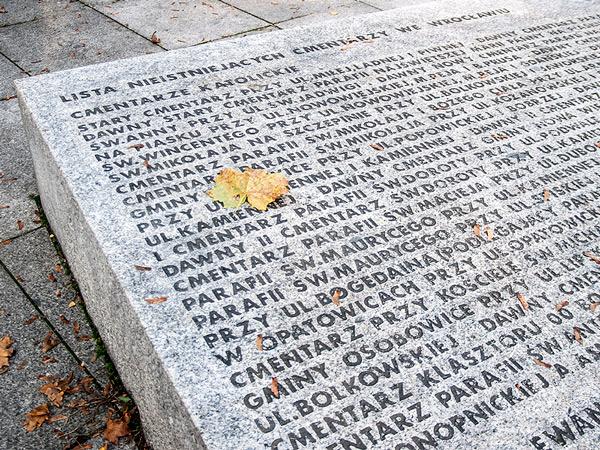 Lista nieistniejących cmentarzy
