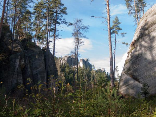 Zdjęcie - Aderszpaskie Skały