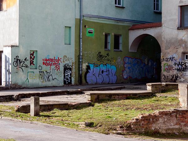 Zdjęcie - Mazanie po murach